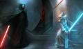 Darth Nihilius im Kampf gegen Atris - Eine frühe Farbstudie des Spiels